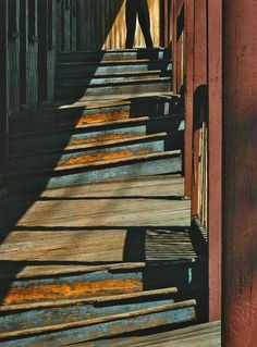 Fred Herzog : staircase, 1958.