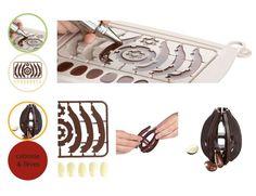 A l'origine du chocolat, il y a la cabosse ! Et YooCook créa… le moule Cabosse Chocolat : un moule en silicone qui permet de confectionner la cabosse originelle avec ses fèves.