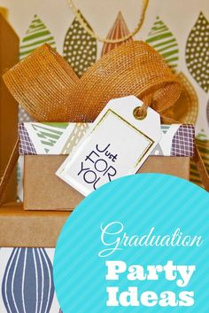 Graduation Party Ideas with #Minted #ad