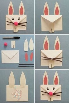 222 Best Step By Step Craft Tutorial Images Crafts Easter Bunny