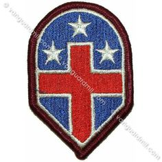 Army Patch: 332nd Medical Brigade - color