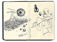 Aleksi Cavaillez Sketchbook