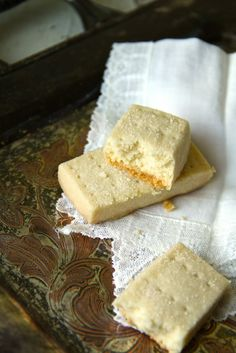 Scottish Shortbread recipe from 12 Days of Christmas Cookies feature on Zahlicious food blog