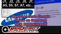 Bypass Qualquer Samsung 6.0.1 (Remover conta do Google) - Sem Downgrade ...