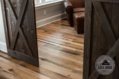 Reclaimed floors by Good Wood Nashville. 25-50% dirty top oak. www.goodwoodnashville.com