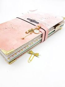 Journal With Lock, Book Journal, Journals, My Dairy, Book Binding, Travelers Notebook, Project Life, Zip Around Wallet, Projects To Try