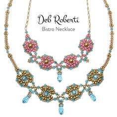 New Bistro Necklace pattern by Deb Roberti