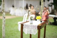 Mesa da cerimônia