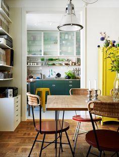 A Home in Sweden. Elle Decoration