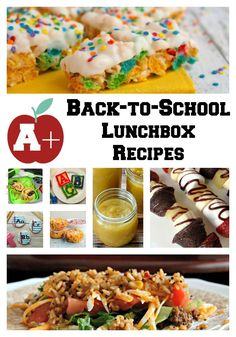 A+ Back-to-School Lunchbox Recipes