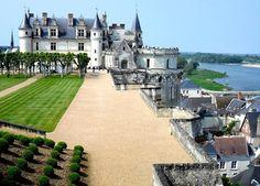 Un des châteaux bordant la Vallée de la Loire