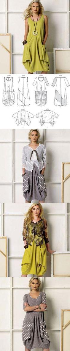 Vogue 8975 Misses' Dress and Jacket...