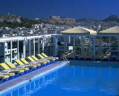 Swimming Pool Views: Athens Ledra Marriott Hotel, Athens, Greece @TravelLeisure