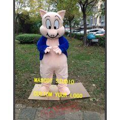 Pig Mascot Costume Pig Costumes, Mascot Costumes, Adult Costumes, Adult Children, Fun, Hilarious
