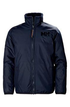 Helly Hansen Kids' Reversible Fleece Jacket In Navy Helly Hansen, Lightweight Jacket, Big Boys, World Of Fashion, Raincoat, Nordstrom, Navy, Jackets