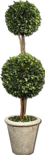 Uttermost 60106 Preserved Boxwood Two Sphere Topiary Accessory - from Build.com  #ExquisitelyModernKichlerSweepstakes