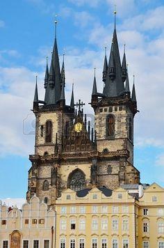 Church of Mother of God before Tyn  Prague, Czech Republic