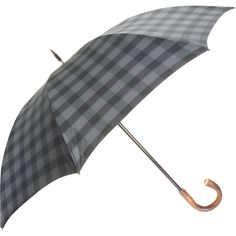 Plaid Stick Unbrella