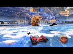 Rocket League Gameplay #4: Online Fun #4 - Snow Day
