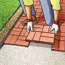 How To: Installing Brick Patio