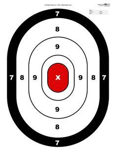 Shooting Targets Gun Range Target