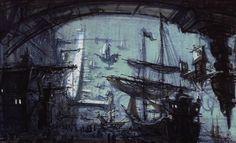 Visual development for Treasure Planet