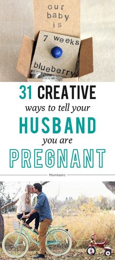 31 fun and creative ways to tell your husband you're pregnant