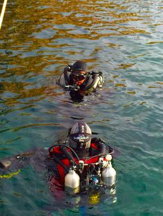 Poseidon Rebreather Training Open Water Dives