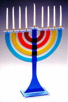 Zohar Glassworks: Blown Glass & Fused Glass: Contemporary and Judaica