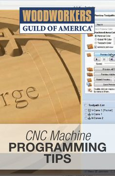 New to CNC? Learn some useful tips and info about the program.