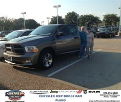 #HappyAnniversary to Gary Jones on your 2012 #Ram #1500 from Zach Stanley at Huffines Chrysler Jeep Dodge RAM Plano!