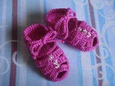 Resultado de imagem para sandália de crochê para adulto