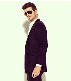 Normally I am not a fan of Robin Thicke. But in this video..... damn.