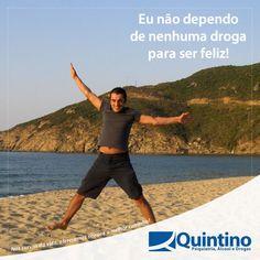 Ninguém precisa de drogas para viver. A felicidade depende de você, não das drogas. #compartilhe #passeadiante #drogasnão  www.clinicaquintino.com.br - 0800 942 0101 (Plantão 24 horas)