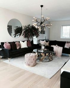 Most comfortable and cozy living room ideas Cozy Small Living Room Decor Ideas for Your Cozy Green Livingroom Inspiring Cozy Apartment Decor on Budget Cozy Living Rooms, Home Living Room, Living Room Designs, Living Room And Kitchen Together, Living Room Themes, Cozy Apartment Decor, Apartment Living, Rustic Apartment, Apartment Decorating Themes
