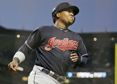 Cleveland Indians' Jose Ramirez heads for the dugout after scoring during the sixth against the San Francisco Giants on Monday, July 17, 2017, in San Francisco. (AP Photo/Eric Risberg) Indians won 5-3