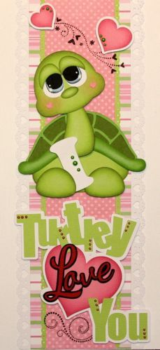 Turtle has heart Scrapbook Borders, Baby Scrapbook, Scrapbook Cards, Foam Crafts, Diy And Crafts, Paper Crafts, Turtle Love, Cute Turtles, Paper Piecing Patterns