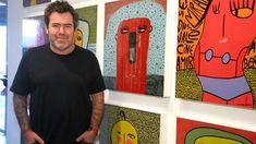 Milo Lockett: el artista plástico del momento