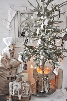 Swedish Christmas - Inspiration i vitt