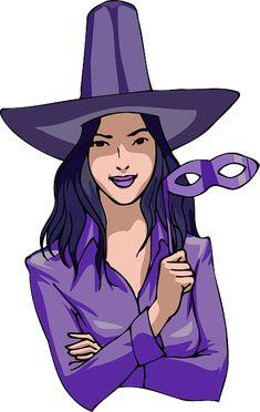 Бесплатное изображение на Pixabay - Хэллоуин, Костюм, Фиолетовый