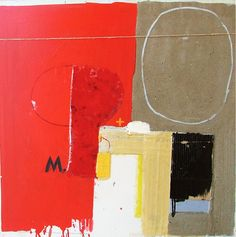 Milan Nesic. Combined technique on canvas. 90 x 90 cm. 2003.