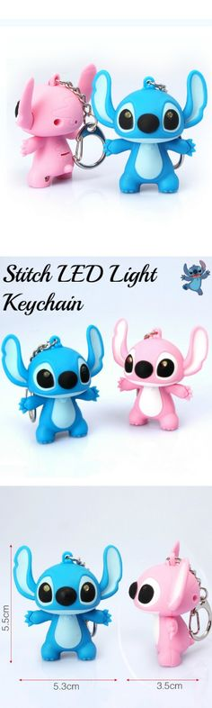 Stitch LED Light Keychain! Click The Image To Buy It Now or Tag Someone You Want To Buy This For. #LiloAndStitch