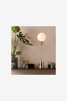 Markslöjd Bordlampe UNO 60 cm - Messing - Bordlamper - Ellos.no Ceiling Lights, Home Decor, Homemade Home Decor, Ceiling Light Fixtures, Ceiling Lamp, Outdoor Ceiling Lights, Decoration Home, Ceiling Lamps, Interior Decorating