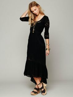 Free People Mexican Wedding Dress, $198.00