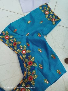 Embroidery Works, Hand Embroidery, Embroidery Designs, Mirror Work Blouse Design, Neck Lines, Aari Work Blouse, Best Blouse Designs, Maggam Work Designs, Baby Frocks Designs