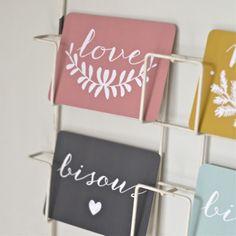 carte postale Love blush Cinqmai - deco-graphic.com