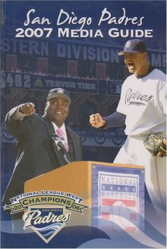 New Soft Cover San Diego Padres 2007 MLB Information Media Guide #SanDiegoPadres