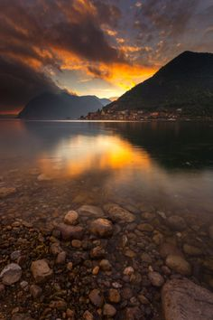 Lake Iseo Lombardy Italy, Michele Rossetti