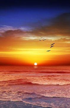 Sunset Beach ** Melbourne, Victoria,   Australia