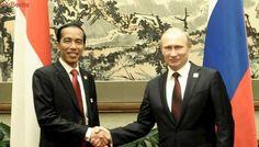 Cerita Jokowi Dipameri Keris oleh Erdogan dan Putin...